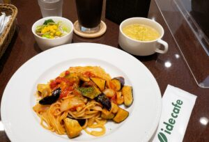 ide cafe でランチ